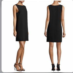 NWT Theory Narlica Admiral Crepe Light Black Dress